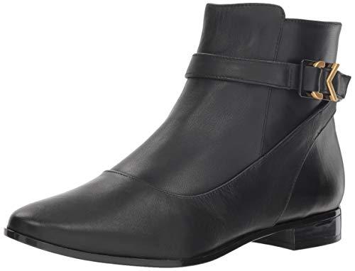 Calvin Klein Women's FARRYN Ankle Boot, Black, 8 M US