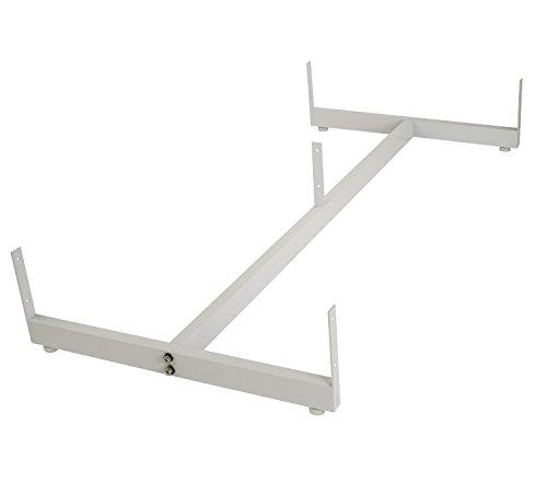 Econoco Gondola Base for Grid Panels, White ()