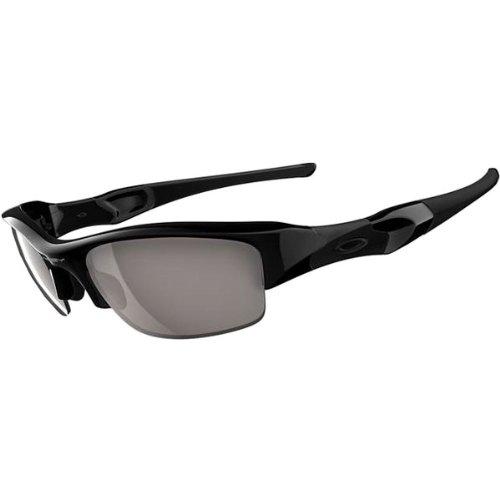 Oakley Flak Jacket Adult Asian Fit Sport Casual Sunglasses - Jet Black/Slate Iridium / One Size Fits All by Oakley (Image #1)