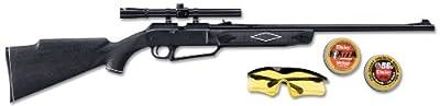 Daisy 880 Powerline Air Rifle Kit, Dark Brown/Black, 37.6 Inch