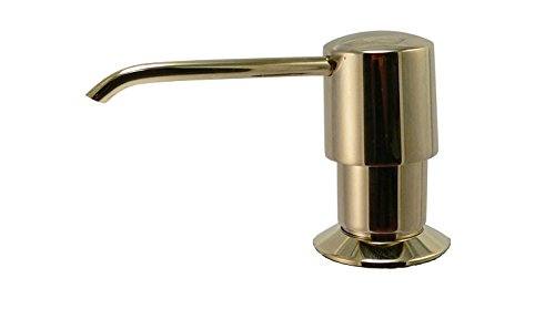 Amazon.com: Keeney K612DSPB Premium Style Soap or Lotion Dispenser with Large Capacity Bottle (16 oz.), Polished Brass: Home Improvement