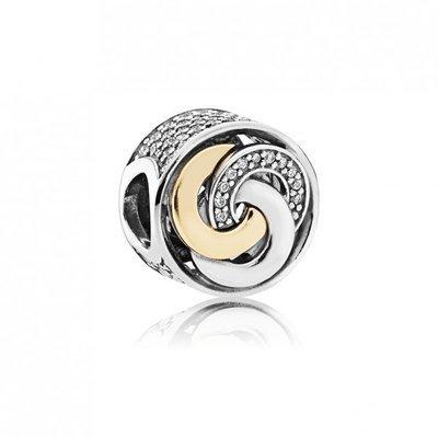 Pandora Women's Interlinked Circles Charm - 792090CZ