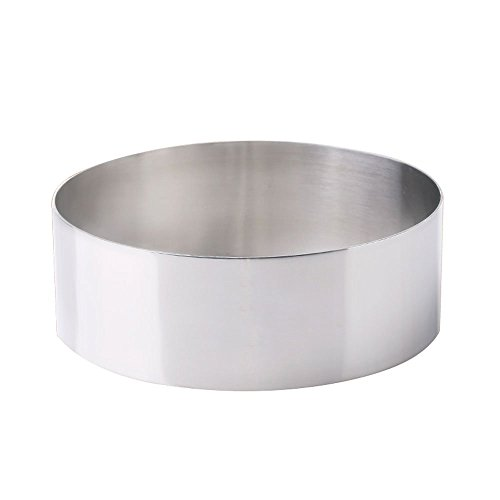 Stainless Steel Round Cheesecake Mold Cake Baking Tool 6 Inch / 8 Inch (Size : 20cm)