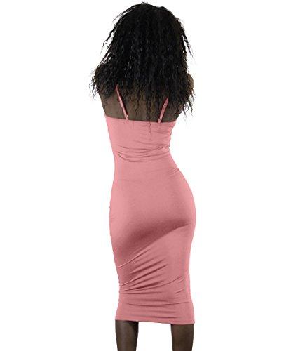 Ballkleid midi rosa