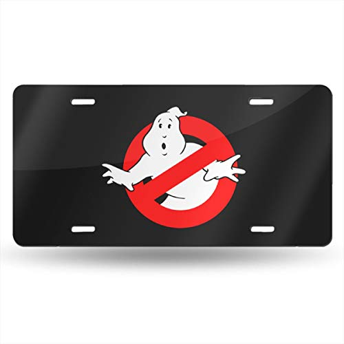 (License Plate Geek Ghostbusters Funny Auto Car Tag Metal Cover Vehicle Plaque Bar Wall Decor)