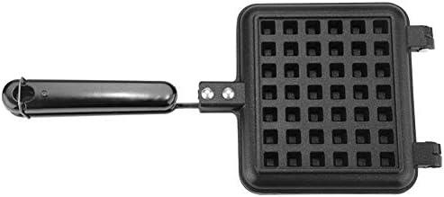 Waffle Cone Maker De Doble Cara, Bandeja De Crepe Antiadherente Fácil De Limpiar Puede Usar Directamente para Cocina A Gas/Estufa Eléctrica De Cerámica