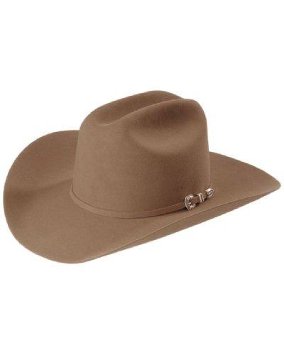 - Stetson Men's Skyline 6X Fur Felt Cowboy Hat Sahara 6 3/4