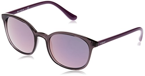 Vogue Eyewear Womens Sunglasses (VO5051) Grey/Grey Plastic - Non-Polarized - - Designer Vogue Sunglasses