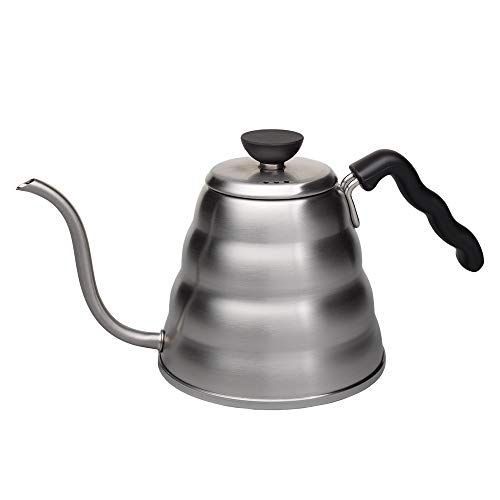 Hario V60 Buono Stainless Steel Gooseneck Coffee Kettle, Stovetop (1.2L/ 1200 mL)