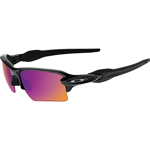 Oakley Men's Flak 2.0 XL OO9188-06 Rectangular Sunglasses, Polished Black, 59 - Oakley Online Glasses