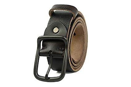 H-M-STUDIO Cinturones De Cuero De La Hebilla del Cinturón De ...