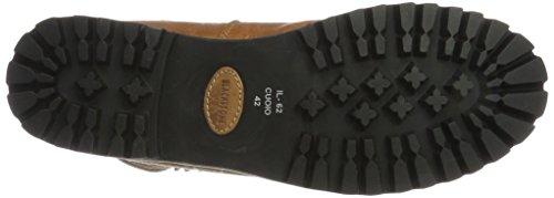 Blackstone Women IL62 Warm lined biker boots short length Brown (Oio) jXq5V2