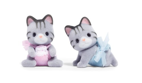 Calico Critters Fisher Cat Twins, Baby & Kids Zone