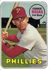 Amazoncom 1969 Topps 507 Cookie Rojas Philadelphia