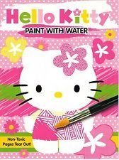 Assorted, Designs Vary Hello Kitty Paint with Water Book by Sanrio