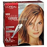 L'Oreal Couleur Experte Express Two-in-One Multi-Tonal Permanent Hair Color System Brioche (Light Golden Brown - Warmer) 1.0 ea. (Quantity of 3)