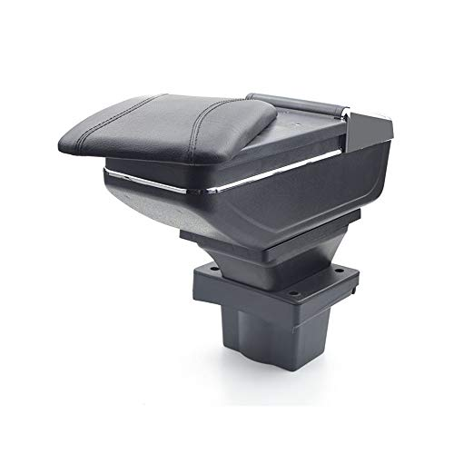 Tidyard Adjustable Car Armrest Centre Console With Storage Compartment for Skoda Fabia MK3 2015