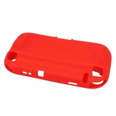 Red Nintendo Wii U Gamepad Silicone Skin Protective Cover Case for Nintendo Wii U