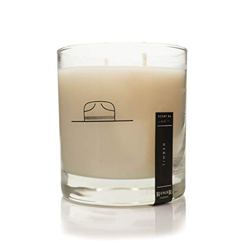 - Ranger Station Timber Candle