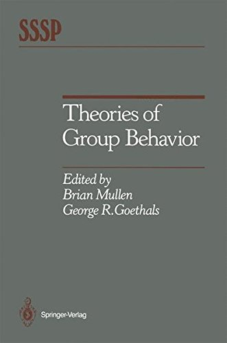 Books : Theories of Group Behavior (Springer Series in Social Psychology)