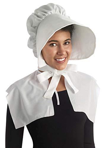 Forum Novelties Oversized Bonnet, White, One Size