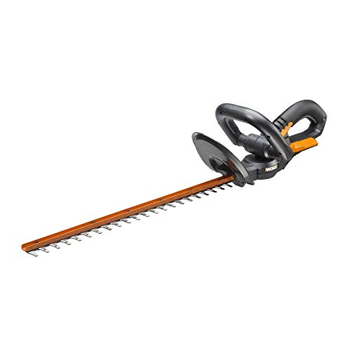 "Worx WG280 40V Baretool Cordless 20"" Hedge Trimmer Lightweight Dual Blades, Battery and Charger Not Included"