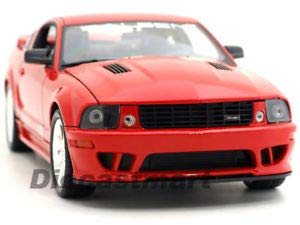 Body Saleen Mustang (BDCAT Welly 1:18 2007 Saleen Ford Mustang S281E RED)