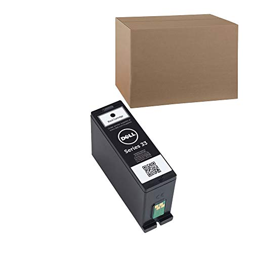 (Series 33) V525w, V725w Single Use Extra High Capacity Black Ink, 750 Yield (OEM# 331-7377) by Dell
