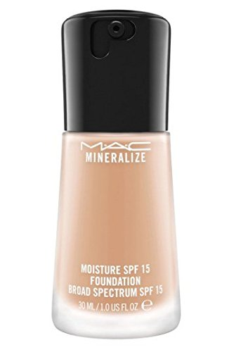 Mac Mineralize Satin Finish (Mac Mineralize Moisture SPF 15 Foundation Broad Spectrum - Nw20)
