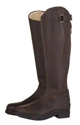 HKM Reitstiefel -Country Artic-,Standardlänge/-weite, braun, Schuhgrösse 40