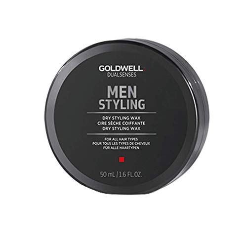 Goldwell Dualsenses Men Styling Dry Styling Wax For All Hair Types Matte Finish Easy Restyle - 1.6 oz