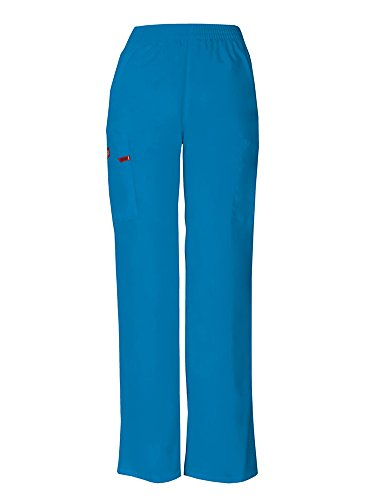 (Dickies EDS Signature Women's Pull On Scrub Pant Xx-Small Riviera Blue)
