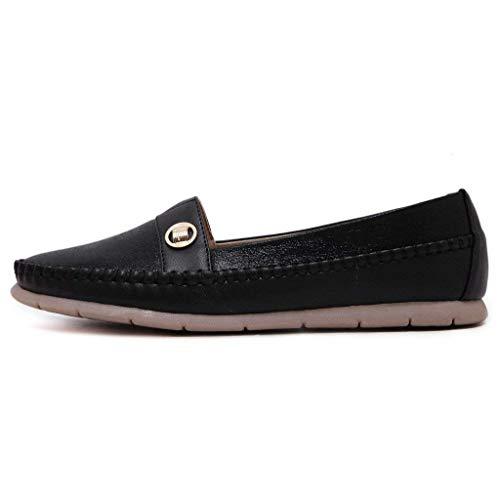 4 Chaussures Beige Talon Plat À Taille Uk En Noir Métal Pour coloré Femme Fuxitoggo FTAPWnqA