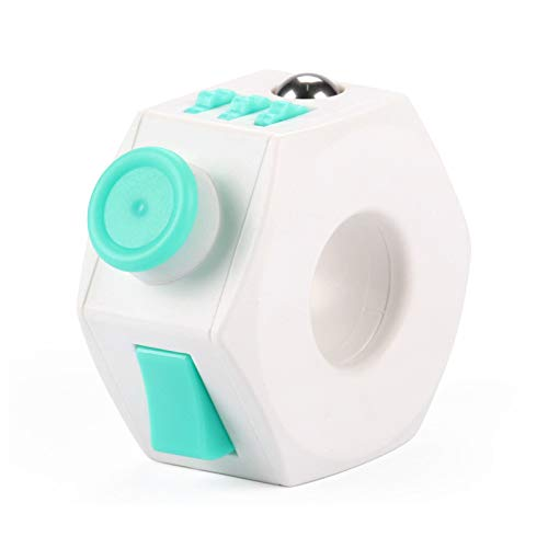 IFun Novelty Decompression Toys Fidget Cube,Fidget Ring for Relieves Stress, Anxiety and Stress (Light Green)