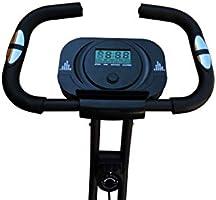 Bicicleta estática Fit-Force Regulable Plegable 8 Niveles de ...