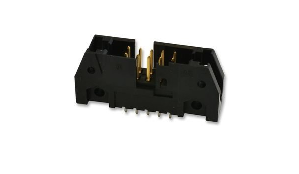 Pack of 10 TE Connectivity Headers /& Wire Housings 50 POS HDR 30AU R//A W//OUT LATCHES,