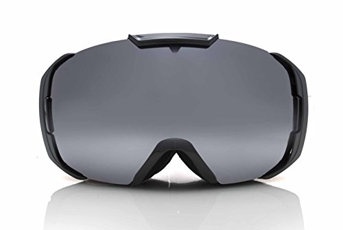 (Sol Alpine Couloir winter bike goggles w/chrome)