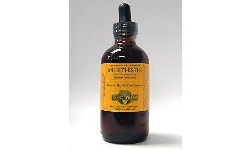 Milk Thistle Extract 4 Ounces by Herb Pharm Large