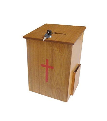 Fixture Displays Donation Box, Tithing Box, Church Offeri...