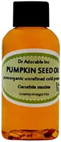 Pumpkin Seed Oil Unrefined Virgin Pure Organic by Dr.Adorable 2 Oz