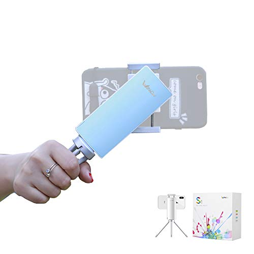 Wewow Phone Gimbal Selfie Stick Stabilizer – Anti-Shake Video Gimbal Stabilizer for Smartphone 【Apple, Android】 Portable S1
