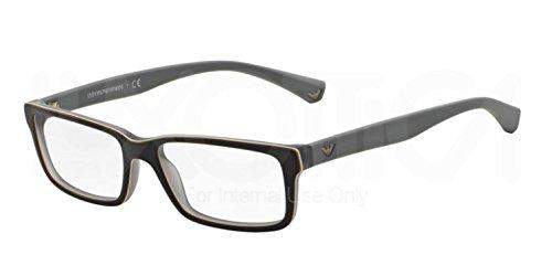 Eyeglasses Emporio Armani EA 3061 5391 TOP HAVANA/MATTE - Glasses Armani Emporio Price