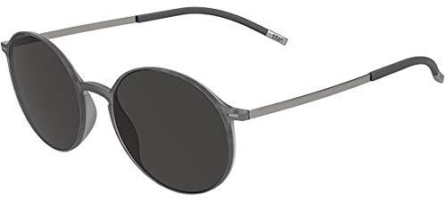 Sunglasses Silhouette Urban Sun 4075 6560 grey 49/18/150 3 piece frame chassis