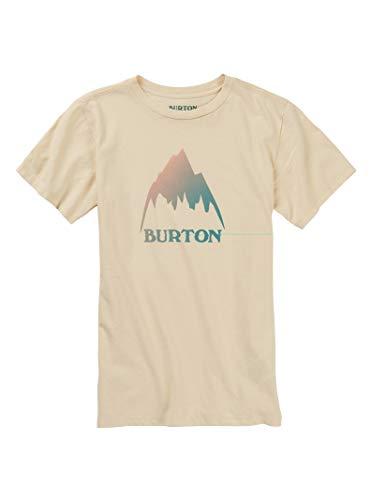 - Burton Girls' Classic Mountain High Short Sleeve Tee, Creme Brulee, Medium
