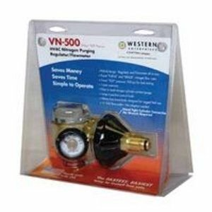 - Western Enterprises VN-250 Flowmeter Nitrogen Purging Regulator w/250 PSI Test Pressure