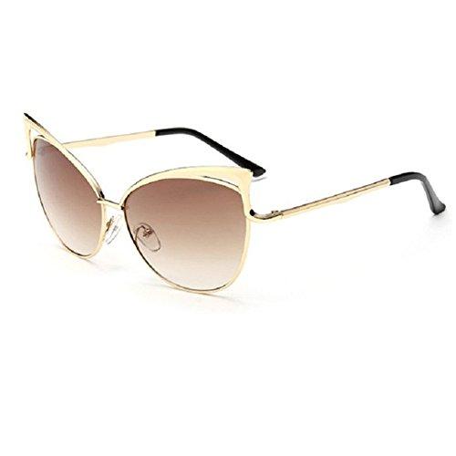 Z-P Women's Geek Cateye Metal Frame Soft Colour Anti-UV400 - Price Rb3447