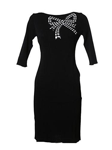 blumarine-womens-8027140-black-viscose-dress