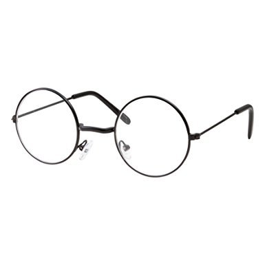 Buy Fancydresswale Kids Non-Prescription Glasses Round Circle Frame ...