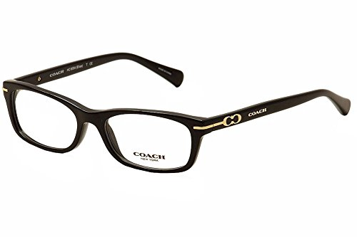Coach Women's HC6054 Eyeglasses Black 52mm ()