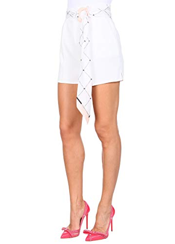 Sh02391e2360 Shorts Franchi Mujer Poliéster Elisabetta Blanco 6qEXxf
